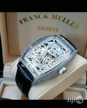 Franck Muller Full Ice Leather Strap Watch   Watches for sale in Lagos State, Lagos Island (Eko)