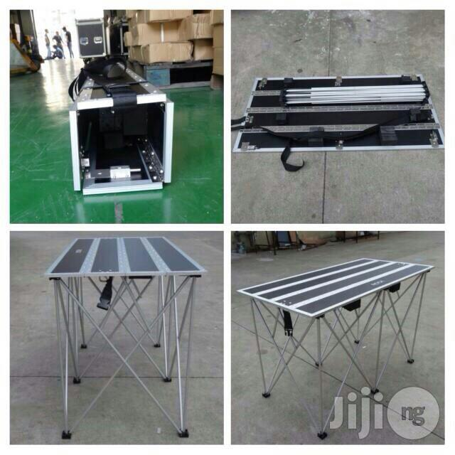 Dj Controllers Table Stand With Mat