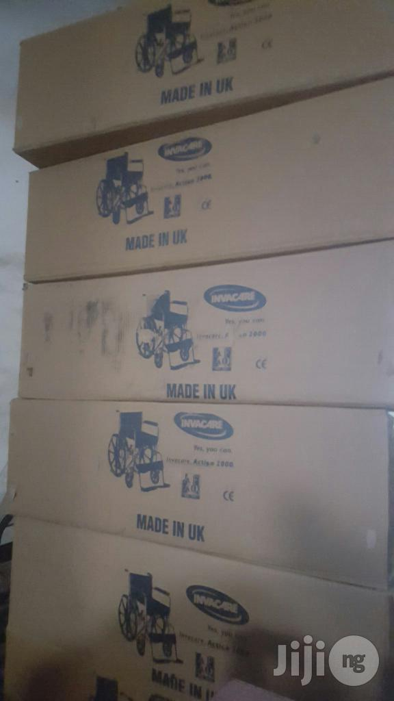 Wheel Chair   Medical Supplies & Equipment for sale in Ikeja, Lagos State, Nigeria