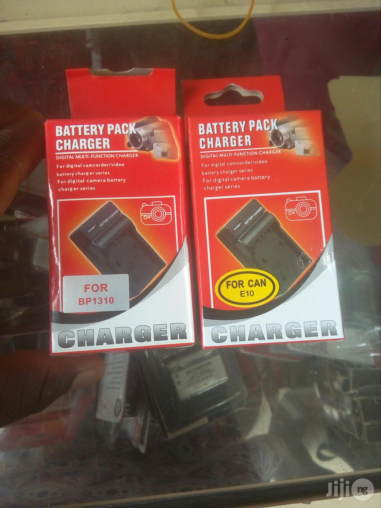 Battery Pack Charger For All Cameras Battery | Accessories & Supplies for Electronics for sale in Ikeja, Lagos State, Nigeria