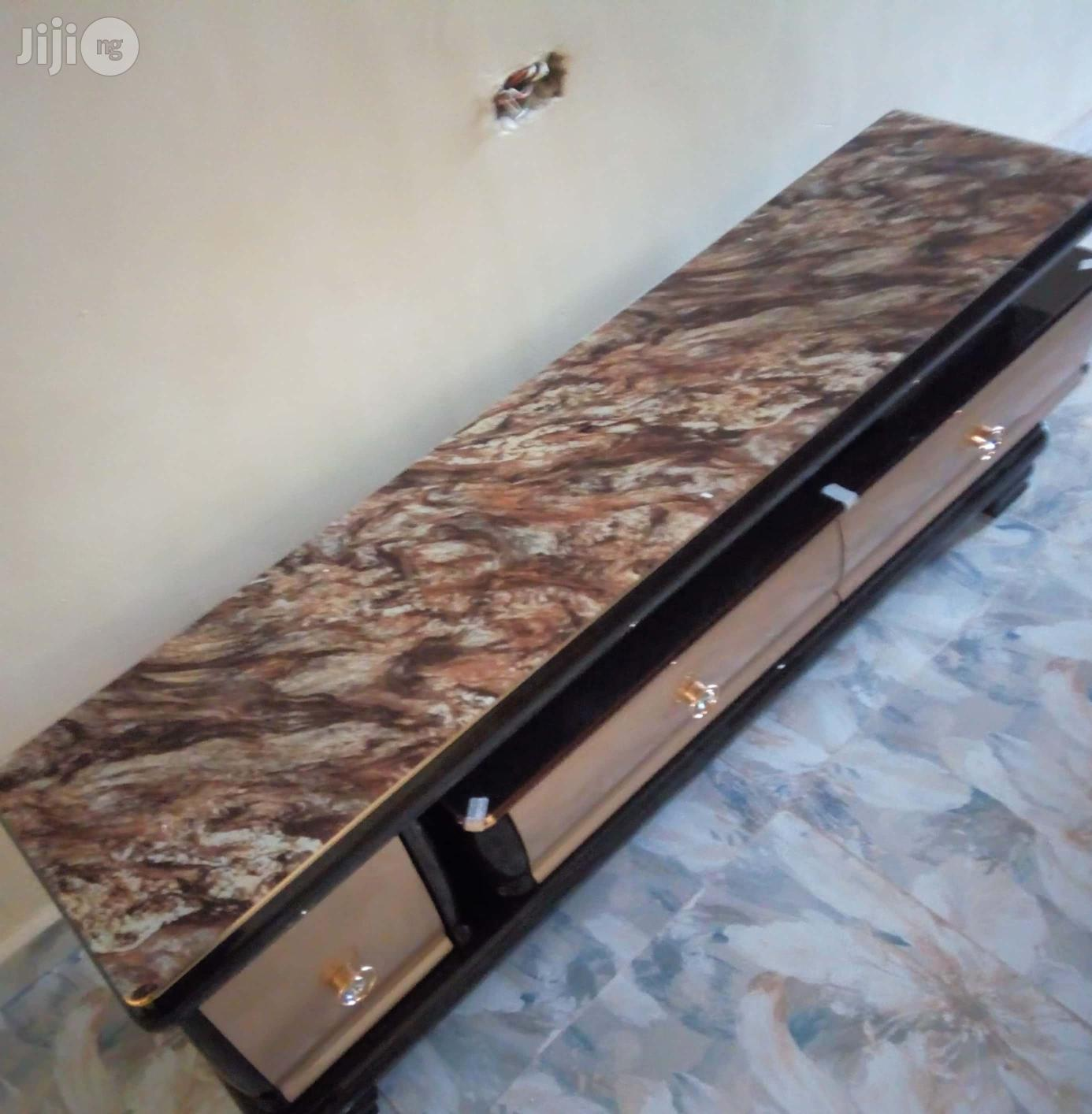 RBF-7142 Imported Executive Adjustable TV Stand Console