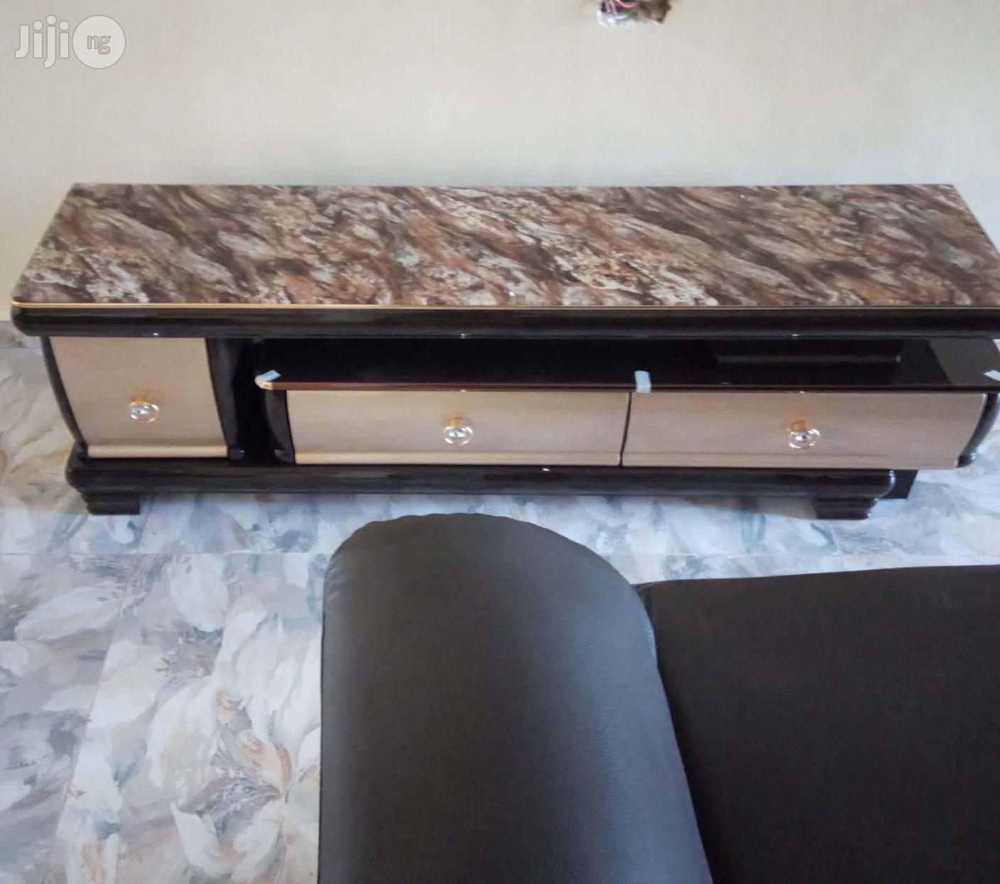 FBF-1876 New Executive Adjustable TV Stand Console
