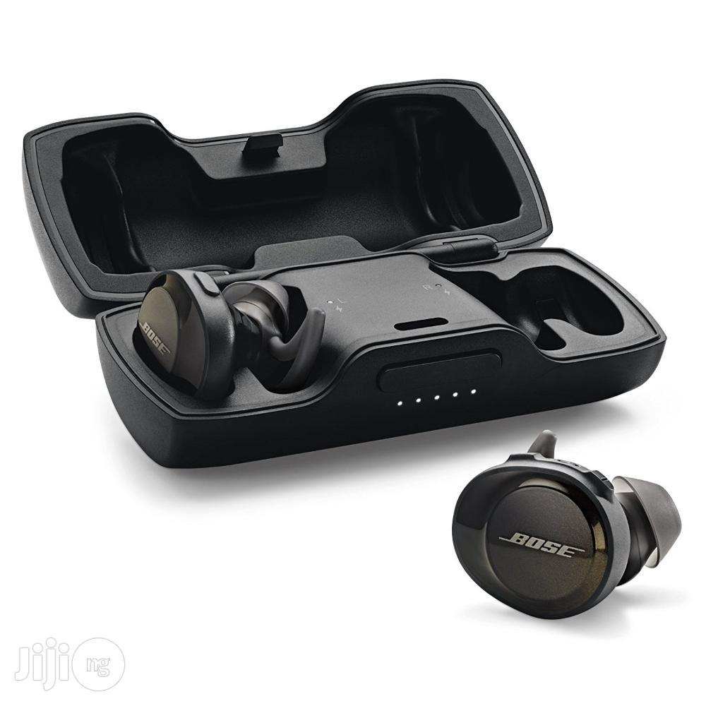 Bose Soundsport Free Truly Wireless Ear Buds - Black | Headphones for sale in Ikeja, Lagos State, Nigeria