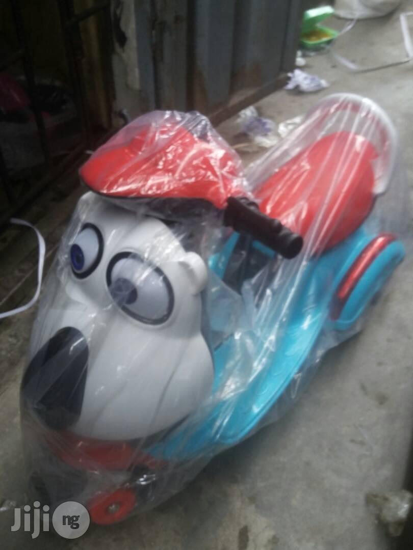 Big Face Cartoon Kids Bike