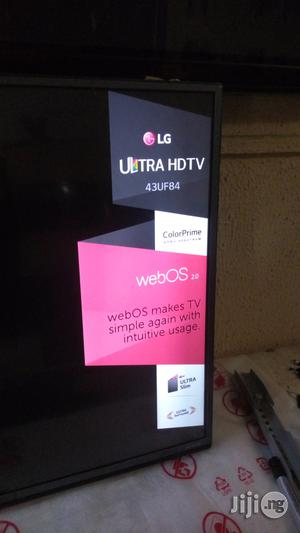 """Ultra Slim 43"""" LG 4K UHD Smart TV Powered by Webos 