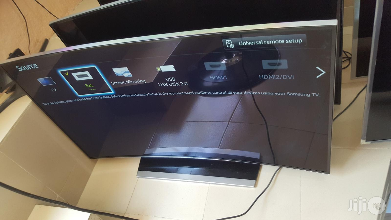 """55""""Samsung Curved Series 7 Hu7200 Smart Uhd LED TV   TV & DVD Equipment for sale in Ojo, Lagos State, Nigeria"""