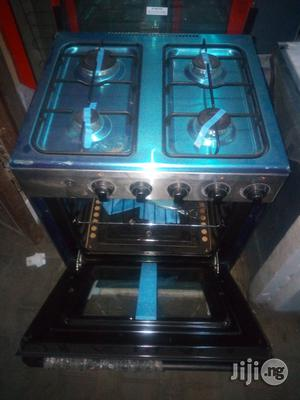 Midea 60*60 4burners Gas Cooker With Oven & Grill 2yrs Wrty   Kitchen Appliances for sale in Lagos State, Ojo