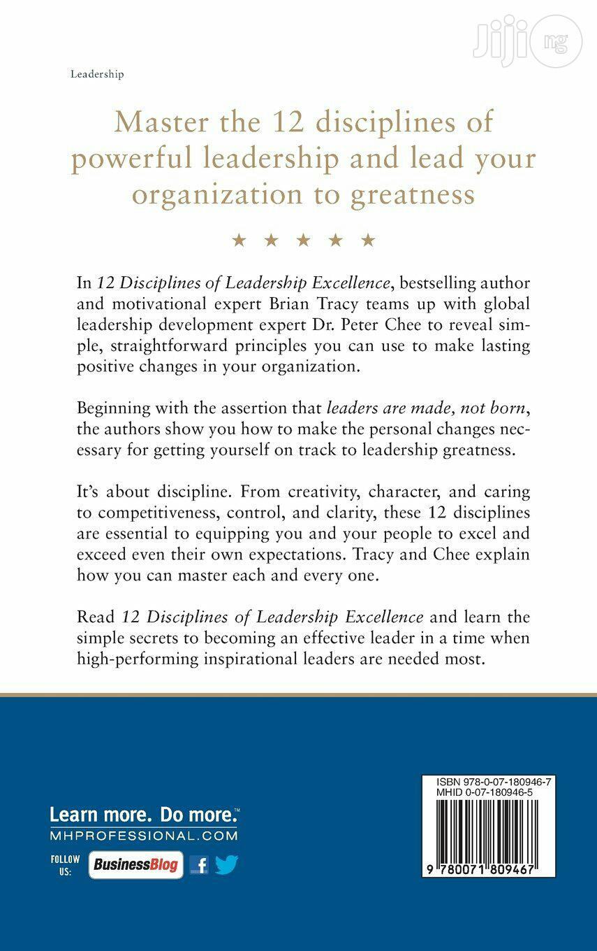 Brian Tracy And 1 More 12 Disciplines Of Leadership Excellence | Books & Games for sale in Lagos State, Nigeria