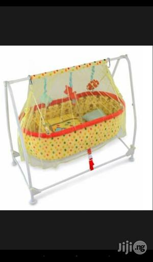 Baby Swing Bed With Mosquito Net   Children's Gear & Safety for sale in Lagos State, Amuwo-Odofin