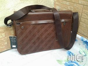 Brown Leather Conference/Seminar Bag For Sale   Store Equipment for sale in Lagos State, Ikeja