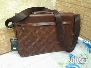 Leather Seminar/Conference Strap Bag For Sale   Bags for sale in Lagos State, Ikeja