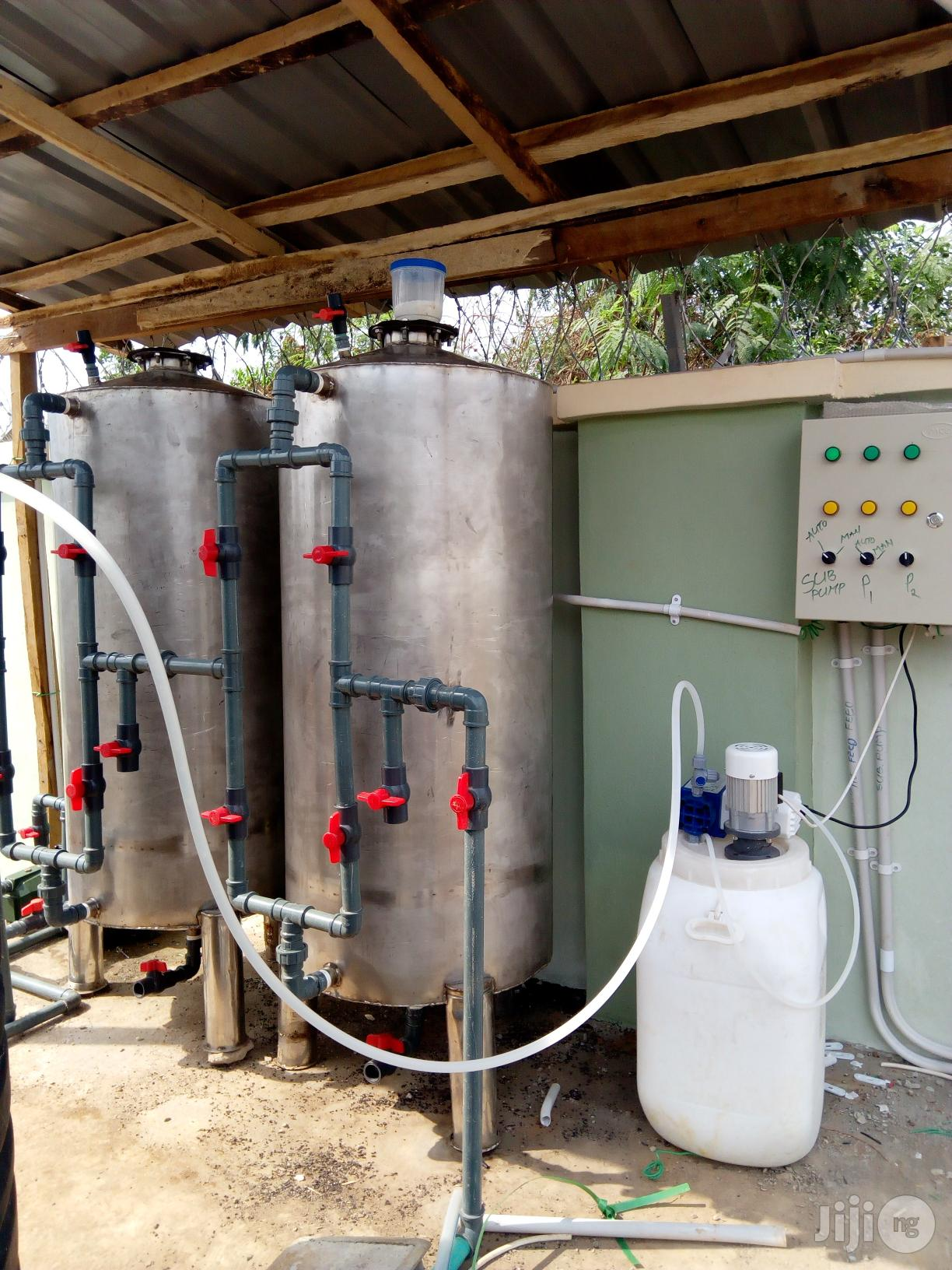 Archive: Water Treatment Plant Media Installation And Reverse Osmosis
