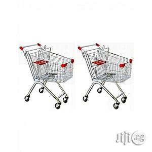 Universal Supermarket Shopping Trolley Cart - Set of 2 Carts | Store Equipment for sale in Lagos State, Yaba