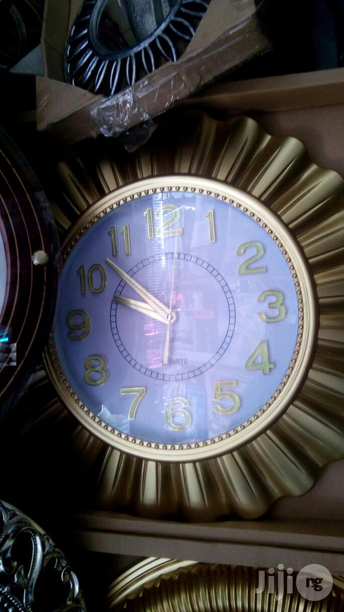 Wall Clock Decorative Wall | Home Accessories for sale in Surulere, Lagos State, Nigeria