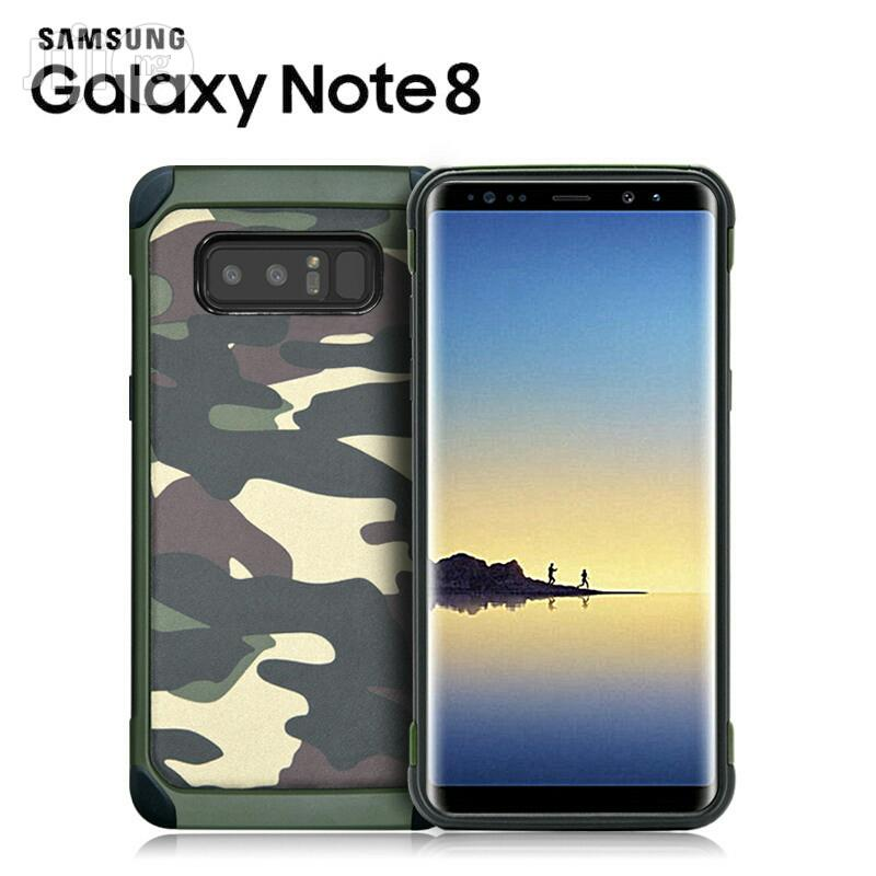 Samsung Note 8 Defender Camo Case
