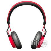 Jabra Move Wireless Stereo Heaadset - Red | Headphones for sale in Lagos State, Ikeja