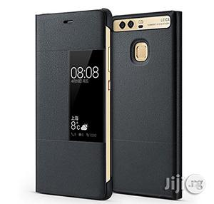 Huawei P9 Smartphone Protective Leather Flip Cover With View Window | Accessories for Mobile Phones & Tablets for sale in Lagos State, Ikeja