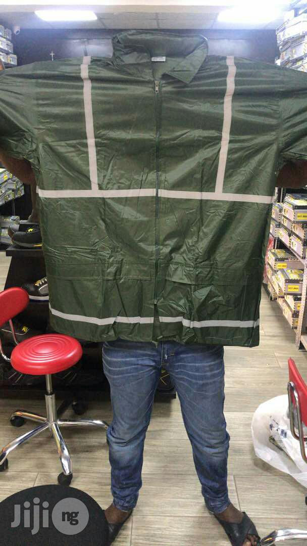 Beta Safety Raincoat With Reflective(Up and Down) | Clothing for sale in Ikeja, Lagos State, Nigeria