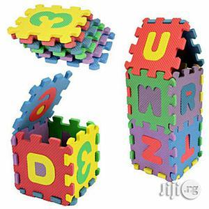 Liplasting 36pcs Baby Kids Alphanumeric Educational Puzzle Blocks   Toys for sale in Lagos State, Amuwo-Odofin
