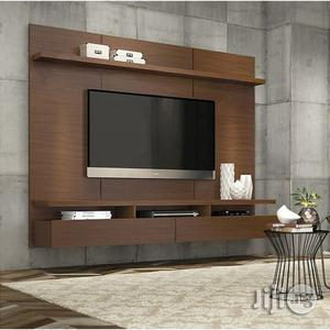Elegance Floating Wall TV Stand Unit - White (Fx083ww)   Furniture for sale in Lagos State