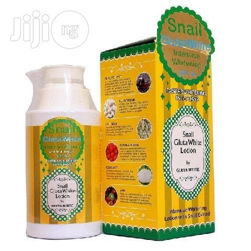 Snail Gluta White Safe Whitening Body Lotion