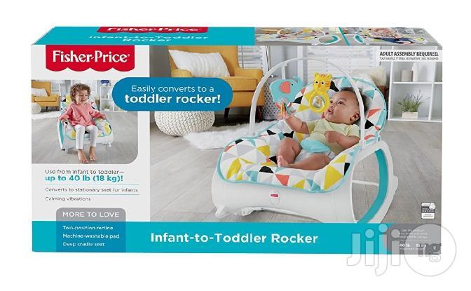 Fisher Price Infant-to-toddler Rocker.