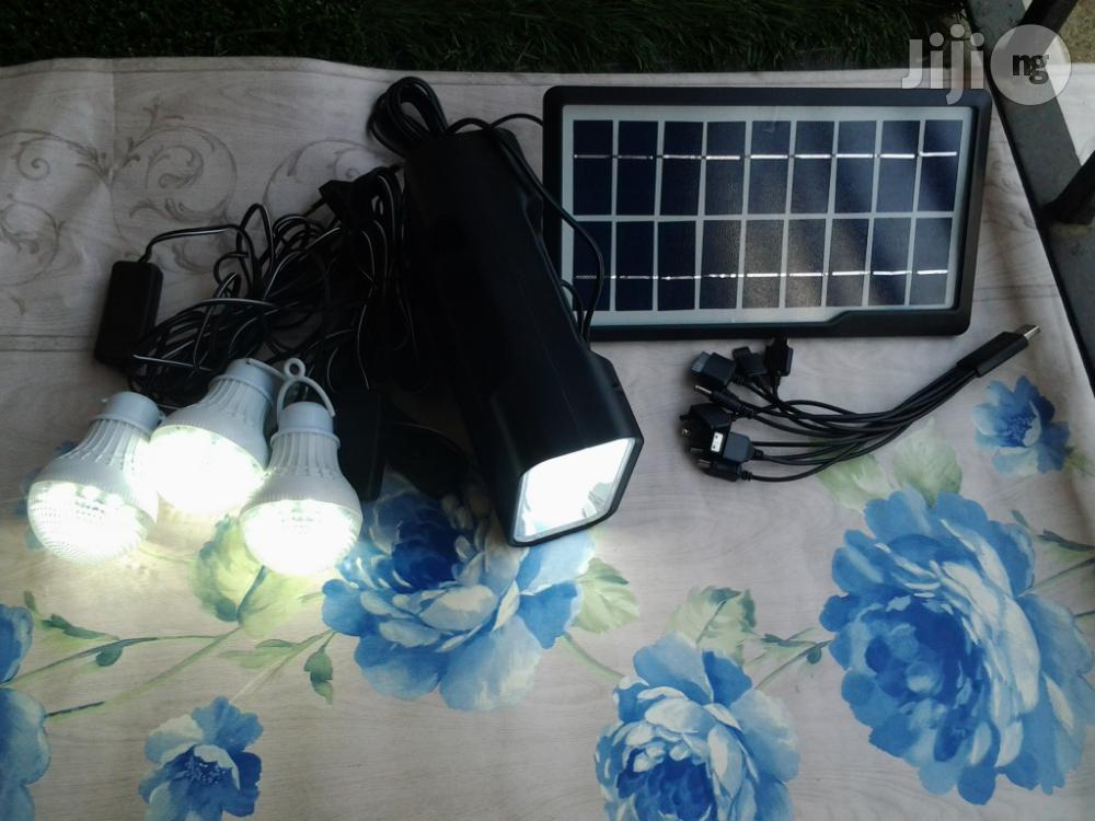 Solar Economy Lighting System For Camping & General Home Use
