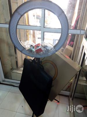 Ring Light 18 Inches + Battery And Charger   Accessories & Supplies for Electronics for sale in Lagos State, Lagos Island (Eko)