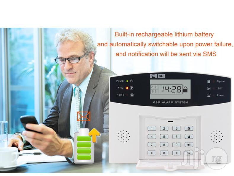 Burglary Security SIM SMS GSM Alarm System PIR Door Sensor | Safetywear & Equipment for sale in Ikeja, Lagos State, Nigeria