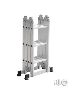 4x3 Foldable Multipurpose Aluminium Ladder   Hand Tools for sale in Lagos State, Ikeja