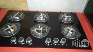 6 Burners In-Built Cooker(Glass) | Restaurant & Catering Equipment for sale in Lagos State, Ojo