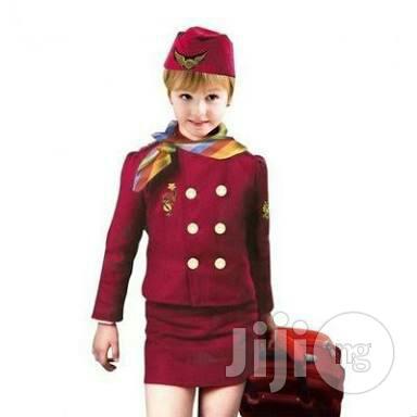 Kids Air Hostess Costume