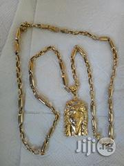 Brand New ITALY 750 Pure 18karat Gold Military Wit Jesus Piece | Jewelry for sale in Lagos State, Amuwo-Odofin