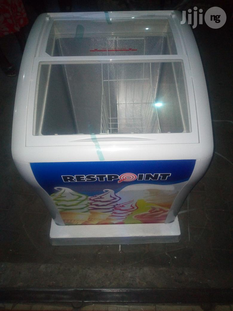 Restpoint 3ft (150L) Deep Transparent Chiller With Two Years Warranty.