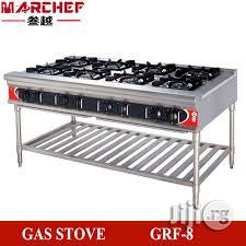8 Burners Standing Gas Cooker Without Oven