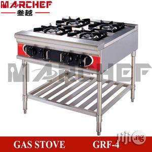 4 Burners Standing Gas Cooker Without Oven   Kitchen Appliances for sale in Lagos State, Ojo