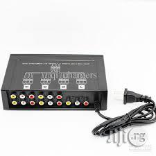 4 Ports Video Audio Splitter | Accessories & Supplies for Electronics for sale in Abuja (FCT) State, Wuse