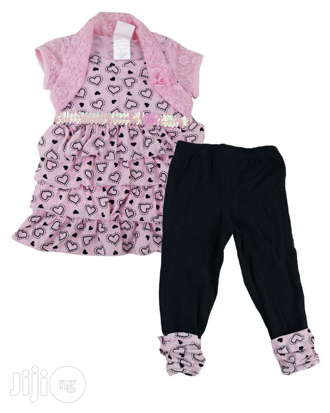 Archive: Nannette Top and Pants Set for Baby Girl - USA