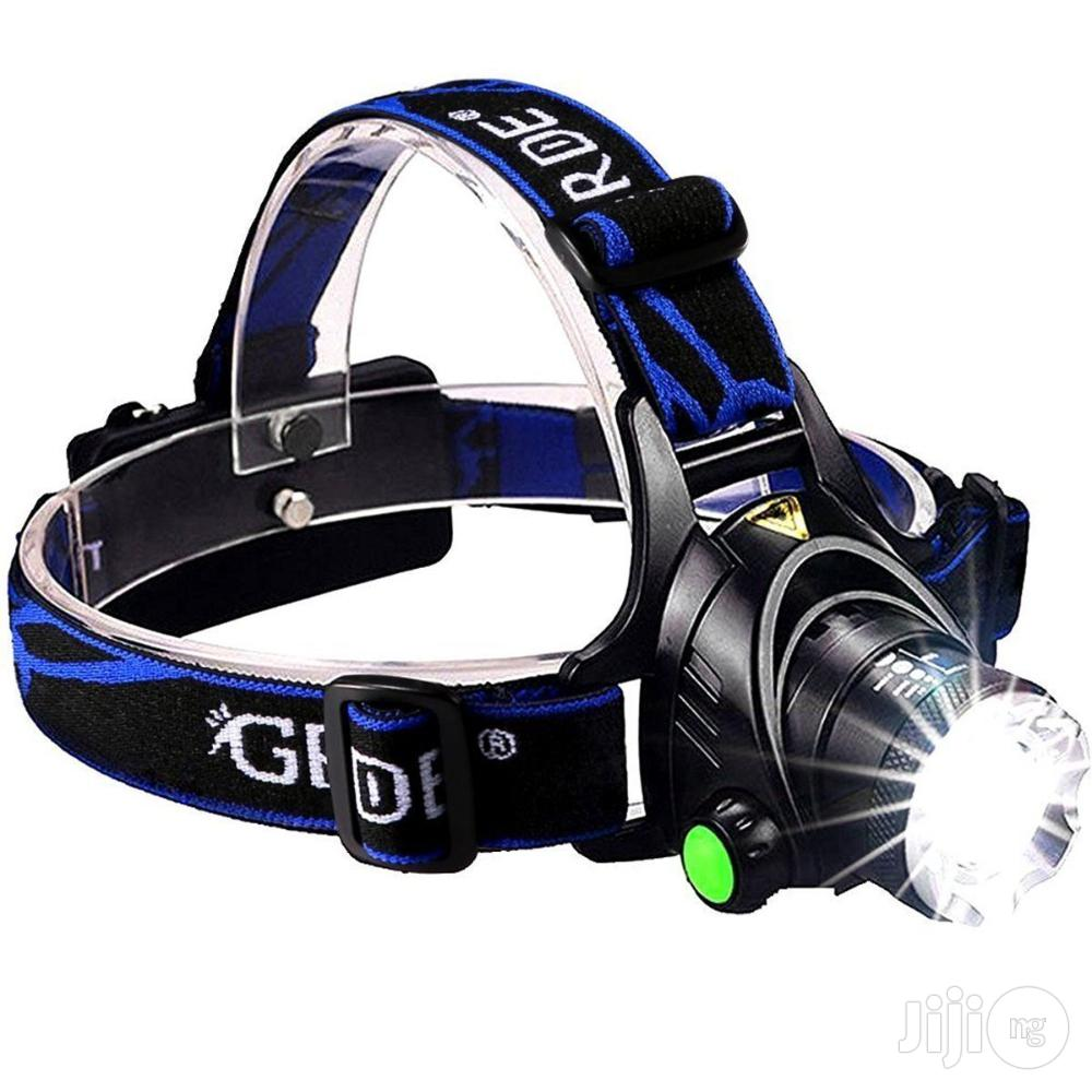 3 Modes Zoomable Super Bright LED Headlamp | Camping Gear for sale in Surulere, Lagos State, Nigeria