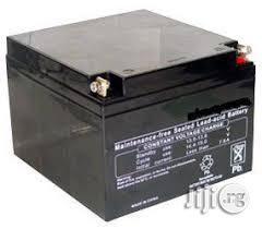 Maximum Power 26ah/12v Deep Cycle Battery | Solar Energy for sale in Lagos State, Ikeja