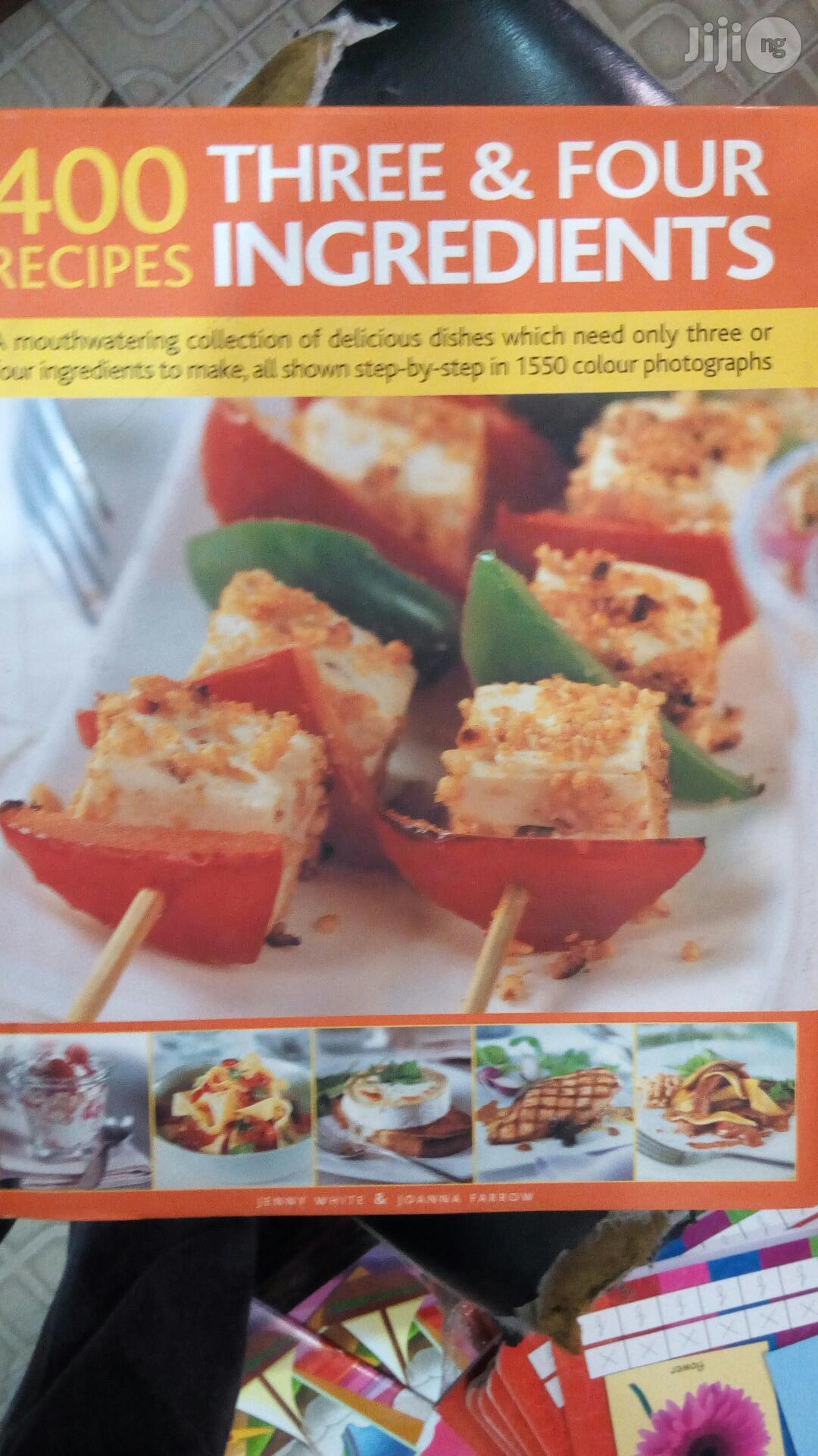 Archive: 400 Three And Four Ingredient Cook Book
