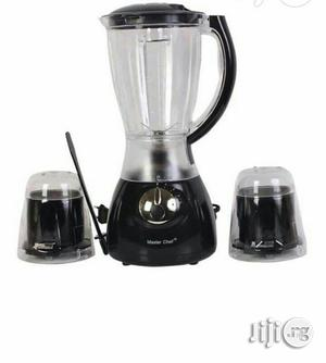 Master Chef Electric Blender With Mills   Kitchen Appliances for sale in Lagos State, Surulere