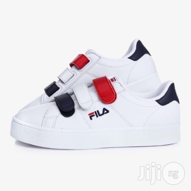Archive: Fila Court Deluxe Red Blue