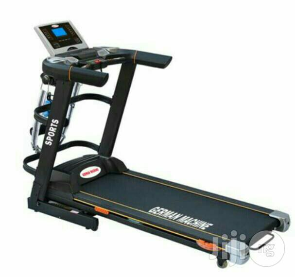 3HP Treadmill With Body Massager,