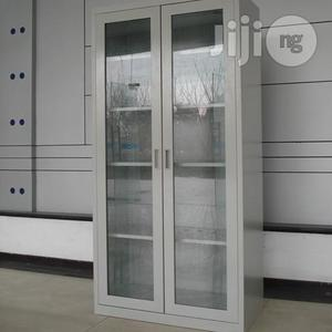 Full Height Glass Door Steel Cabinet   Furniture for sale in Lagos State, Oshodi