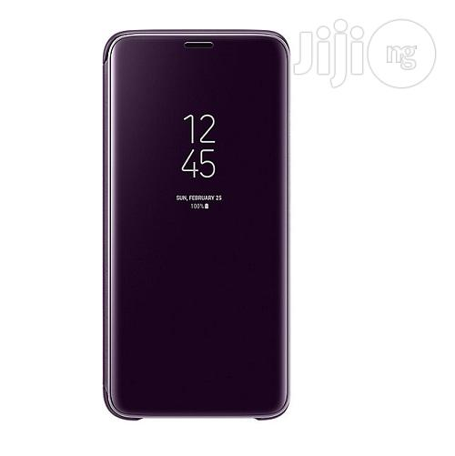 Official Samsung Galaxy S9/S9+ Clear View Stand Flipcover | Accessories for Mobile Phones & Tablets for sale in Ikeja, Lagos State, Nigeria