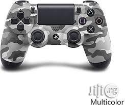 Cyber Dualshock 4 Controller For PS4 - Urban Camo | Accessories & Supplies for Electronics for sale in Lagos State, Ikeja