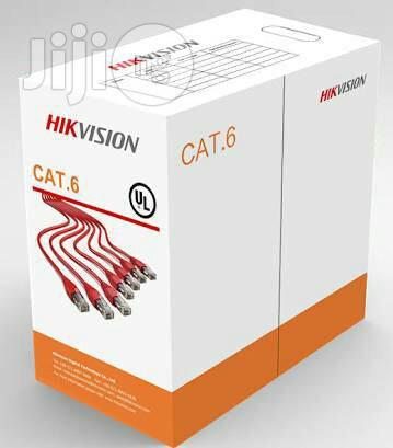 Hikvision Cables Cat6 305metres 100% Copper