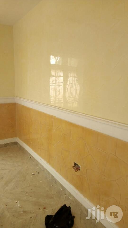 Stucco Italianspanish Deco Paint Nd Wall Screeding 3d Panel | Building Materials for sale in Lagos Island, Lagos State, Nigeria
