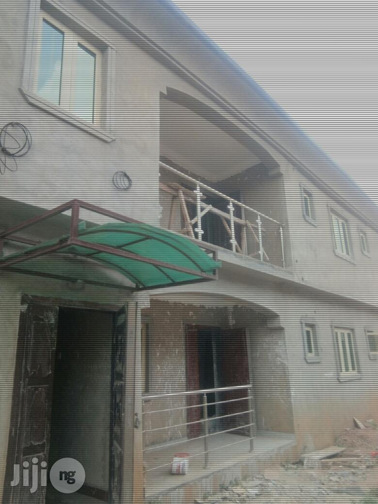 Newly Built & Nice Block of 4 Flats At Beckley Estate Phase 1 Oko Oba For rent.